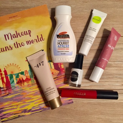 Produits Beautiful Box Novembre 17