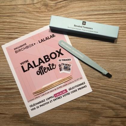 Birchbox x Lalalab