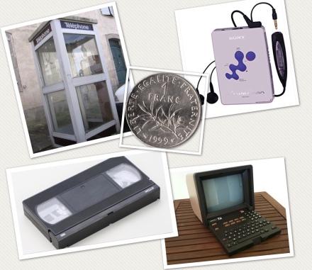 objets qui n'existent plus des années 90