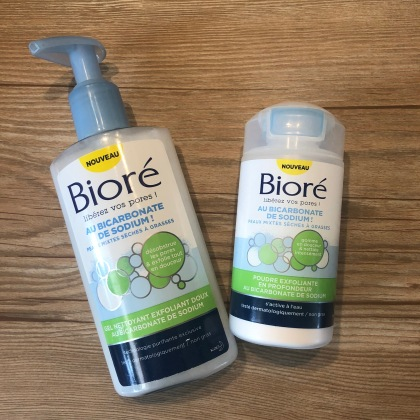Bioré - gamme au Bicarbonate de soude