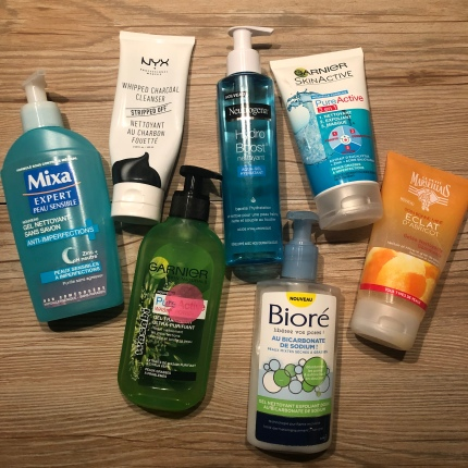 Gels nettoyants visage So'MakeUp Blog