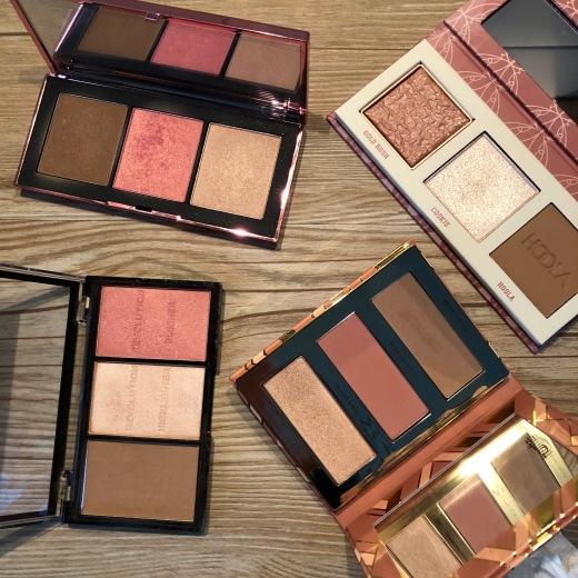So'MakeUp Blog Palettes trio teint