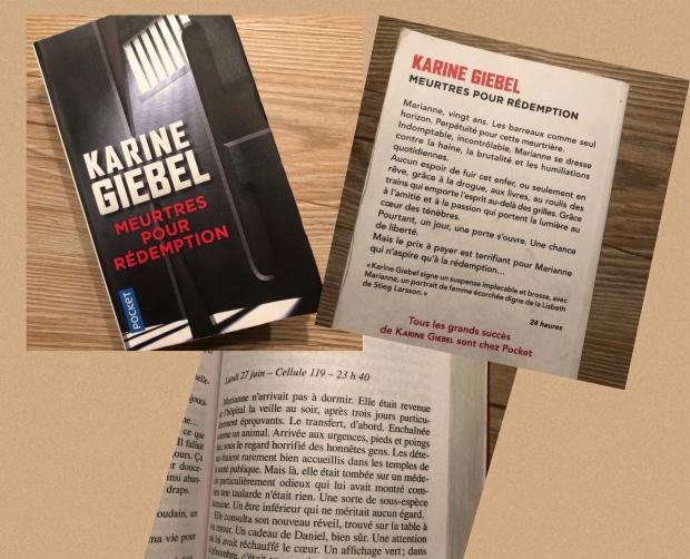 So'MakeUp Blog Karine Giébel Meurtres pour rédemption