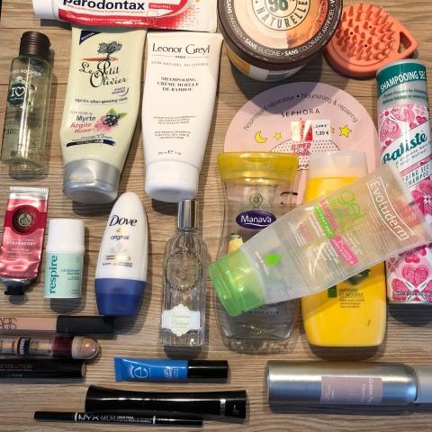 So'MakeUp Blog produits terminés
